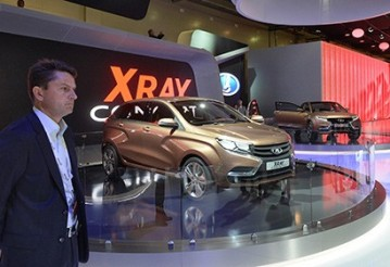 Автомобиль Lada XRay Concept 2