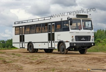 МАЗ разработал для Черного континента «афробус». Фото mpark.pro