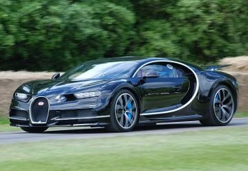 Bugatti Chiron. Фото Wikipedia