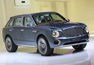 Концептуальный внедорожник Bentley…