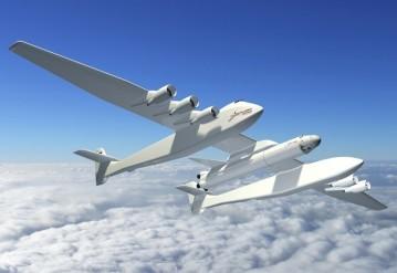 Крупнейший самолет для запуска ракет в космос создали в США