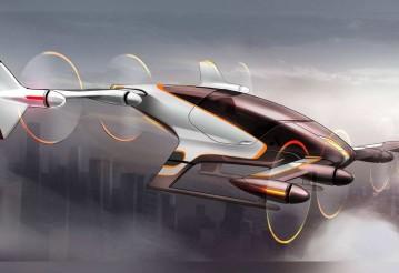 Работу беспилотного летающего такси показали на видео