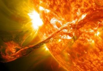 Вспышка на Солнце. Иллюстрация: NASA