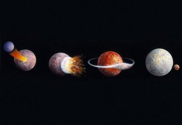 Опровергнута гипотеза происхождения Луны