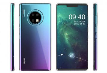 Huawei представила смартфон с четырьмя камерами и без Google