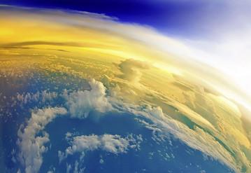 Зафиксированы небывалые изменения атмосферы Земли. Фото Twitter.com