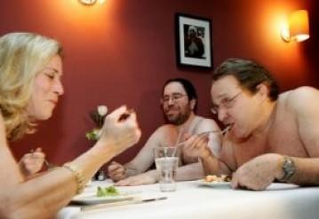 В Лондоне откроется первый ресторан для голых