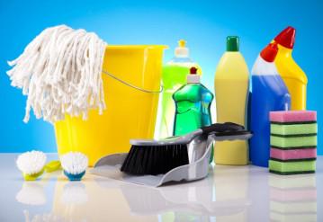 Качественная уборка профессиональной бытовой химией