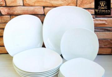 Виды столовых тарелок