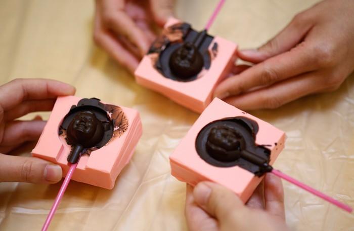 Шоколад с фото своими руками
