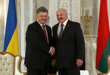 Лукашенко направился с рабочим визитом в Украину