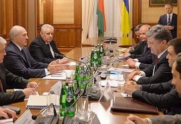 В Беларуси создадут совместный с Украиной телеканал. Порошенко: Белорусы имеют право знать разные точки зрения. Фото: president.gov.by