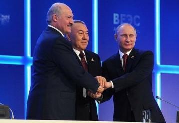 Лукашенко упрекнул Путина и Назарбаева за изъятия в ЕАЭС.  Фото Пресс-служба президента России