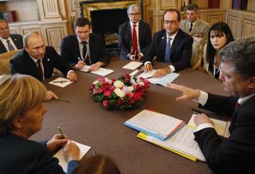 """Саммит в """"нормандском формате"""" может пройти в Минске 11 февраля. Фото с сайта http://vg-saveliev.livejournal.com/"""