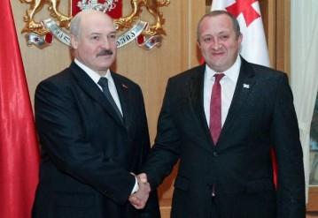 """Фото из официального аккаунта президента Грузии в """"Фейсбуке""""."""
