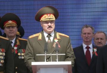 9 мая 2015 года. Фото: пресс-служба президента Беларуси