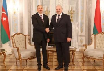Александр Лукашенко и Ильхам Алиев. Фото: пресс-служба президента Беларуси