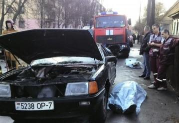 Трагедия на Гая. 38-летний мужчина хотел убить и жену, и детей и семью на Audi. Фото TUT.BY