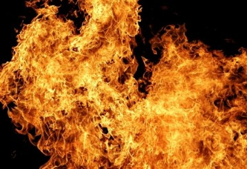 В Минске машина сама загорелась, поехала и устроила ДТП