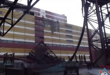 На «Беларуськалии» обрушились металлоконструкции в одной из галерей. Источник фото: МЧС