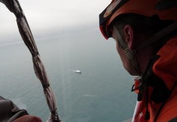 Поисково-спасательная операция в Черном море. Фото: МЧС России