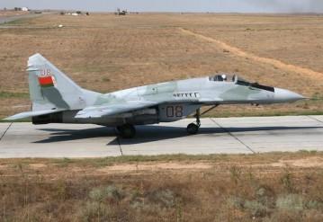 МиГ-29. Снимок использован в качестве иллюстрации
