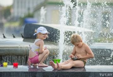 Летняя жара в Минске. Фото: Евгений Ерчак, TUT.BY
