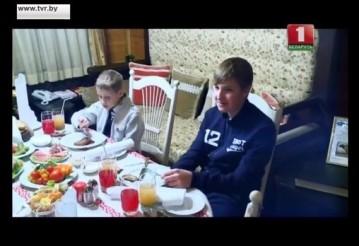 Николай Лукашенко: Я не очень хочу стать президентом. Скриншот видео
