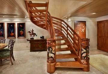 Стили деревянных лестниц. Как выбрать деревянную лестницу в Минске