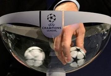 Определились пары 1/8 финала Лиги чемпионов