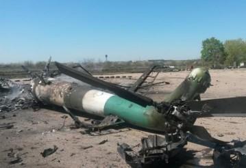 Опубликованы фотографии последствий обстрела аэродрома в Краматорске