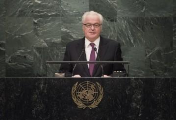 Виталий Чуркин. Фото: пресс-центр ООН