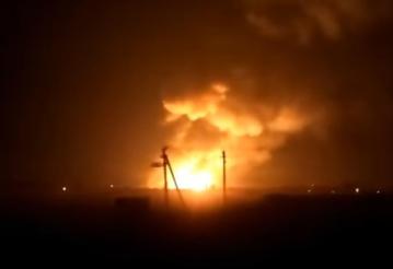 Взрывы на складах хранения боеприпасов в Харьковской области: люди прячутся в бомбоубежищах