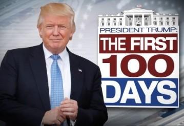 Как спустя 100 дней Трамп выполняет свои обещания. Фото с сайта ukrainelobbying.com.ua