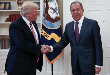 Дональд Трамп и Сергей Лавров. Фото: Facebook пресс-секретаря главы МИД России Марии Захаровой