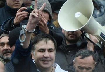 Судьбу Саакашвили решат в Минске. Фото с сайта Ok.ru
