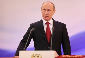 Путин в четвертый раз стал президентом России. Фото http://rosmuslim.ru