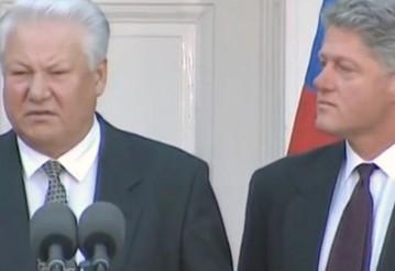 Опубликована расшифровка разговора Ельцина и Клинтона о Путине