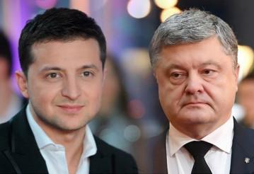 Стали известны окончательные результаты Зеленского и Порошенко. Фото с сайта meta.ua